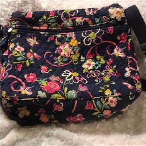 Vera Bradley Messenger Bag in Ribbons